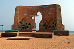 Benin: Monument in Ouidha