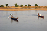Chad: Canoe Fishing on Chad-Cameroon Border