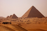 Pyramids of Egypt in North Africa