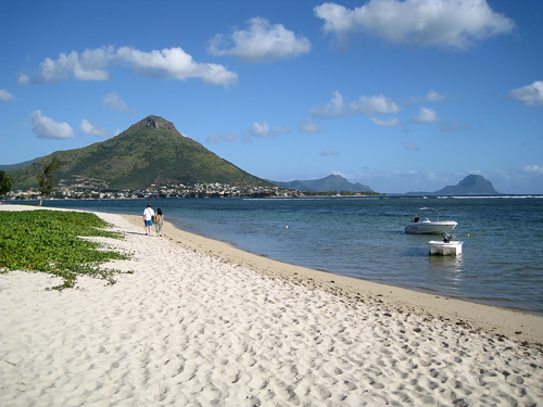 Mauritius Beach and Mountain