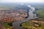 South Sudan: Juba Aerial Photo
