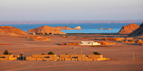 Sudan: Wadi Halfa on Lake Nubia